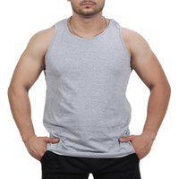 Camiseta Regata Academia Masculino Cinza