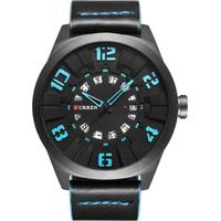 Relógio Curren Analógico 8258 Azul