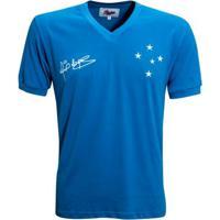 Camisa Liga Retrô Cruzeiro 1966 - Dirceu Lopes - Masculino