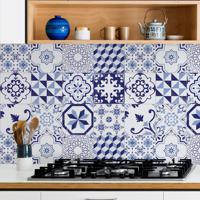Revestimento De Azulejo Azul Lusitano