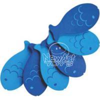Coleção Comidinhas Peixe 6 Pçs Newart Toys Colorido