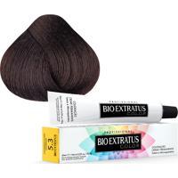 Tintura Creme Bio Extratus Color Castanho Claro Dourado 5.3 60Ml