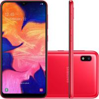 """Smartphone Samsung Galaxy A10 32Gb 6.2"""""""" 2Gb De Ram Com Câmera Trase"""