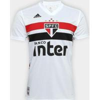 Camisa São Paulo I 19/20 S/N° Torcedor Adidas Masculina - Masculino
