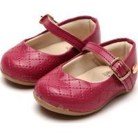 Sapato Klin Cravinho Princess Vinho