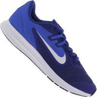 Tênis Nike Downshifter 9 Gs - Infantil - Azul/Branco