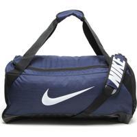 Bolsa Nike Brasilia Duffel Azul-Marinho/Preta