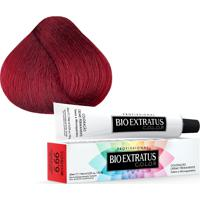Tintura Creme Bio Extratus Color Louro Escuro Vermelho Intenso 6.66 60Ml