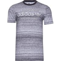 Camiseta Masculina Traction Aop - Cinza
