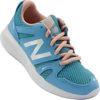 Tênis New Balance K 570 Infantil Masculino - Masculino-Azul+Rosa