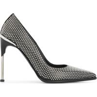 Alexander Mcqueen Sapato Com Aplicação De Tachas - Preto