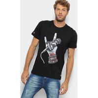 Camiseta Okdok Classic Mic Masculina - Masculino-Preto