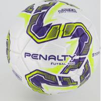 Bola Penalty Storm Fusion X Futsal Roxa E Amarela