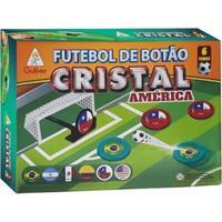 Futebol De Botão Cristal - Copa América - 6 Seleções - Gulliver