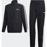 Agasalho Adidas Stripes Masculino - Masculino