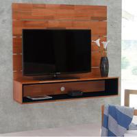 Painel Para Tv 50 Polegadas Ouro Natural E Preto