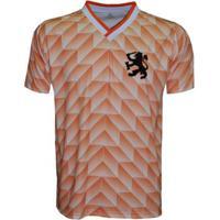 Camisa Liga Retrô Holanda 1988 - Masculino