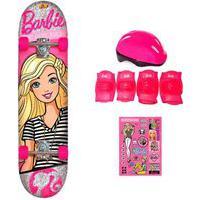 Barbie Skate Com Adesivos My Best Friend - Fun Divirta-Se