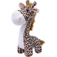 Pelúcia Minas De Presentes Girafa Marrom - Kanui