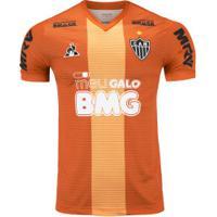 Camisa De Treino Do Atlético-Mg 2019 Le Coq Sportif - Masculina - Laranja