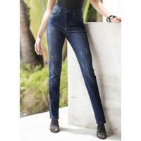 Calça Jeans Skinny Azul