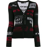 Love Moschino Cardigan Slim - Preto