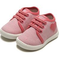 Tênis Pimpolho Menina Coração Rosa