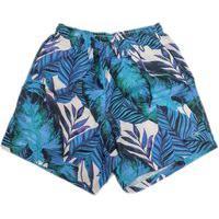 Short Boxer Ogochi Floral Azul 0040000079266