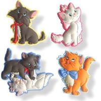Imã De Geladeira - Personagens Disney - Amigos Da Marie - New Toys