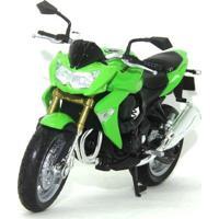 Mini Moto Cycle - Escala 1:18 - Kawasaki Z1000 - Califórnia Toys