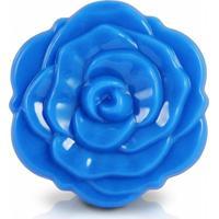 Espelho De Bolsa Flor Jacki Design Espelhos Azul - Kanui