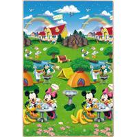 Tapete Recreio Disney Trip Mickey 120X180 Jolitex Verde