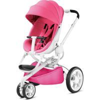 Carrinho De Bebê 3 Rodas Moodd Pink Passion Quinny