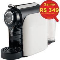 Máquina De Café Expresso Automática Qool Evolution Com Sistema De Cápsulas E 19 Bar De Pressão Branca - Delta Q