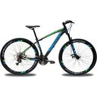 Bicicleta Rino Everest 29 Freio A Disco - Cambios Shimano 24V Com Trava - Unissex