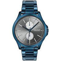 Relógio Hugo Boss Masculino Aço Azul Metálico - 1530006