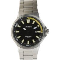 Relógio Orient Masculino Analógico Mbss1197A Pysx Prateado - Unico
