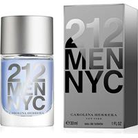 Perfume Masculino 212 Men Carolina Herrera Eau De Toilette 30Ml - Masculino-Incolor