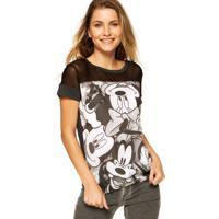 Blusa Cativa Disney Tela Cinza