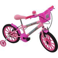 Bicicleta Sereia Mermaid Polikids Aro 16 Infantil - Unissex