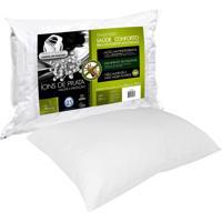 Travesseiro Fibrasca Íons De Prata Fibra Branco