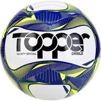 Bola De Futebol Society Topper Drible Tecnofusion - Unissex