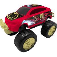 Carrinho Roda Livre - Monster Car - Avengers - Iron Man - Marvel - Toyng