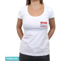 Hello, My Name Is - Camiseta Clássica Feminina