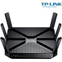 Roteador Wireless Tp-Link Archer C3200 Com Velocidade De 3200Mbps, Gigabit Tri-Band Com Frequência 2.4Ghz (11N) E 5Ghz (11Ac) E 6 Antenas Externas