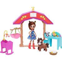 Boneca Enchantimals Aventuras Na Fazenda - Mattel