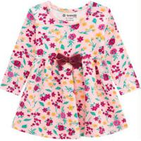 Vestido Menina Baby Rosa