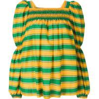 La Doublej Blusa Listrada - Verde