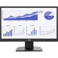 """Monitor Aoc 21.5"""" Led Widescreen Dvi Hdmi E2270Pwhe Preto"""
