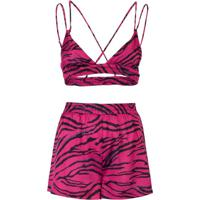 Conjunto Pijama Top E Short Doll